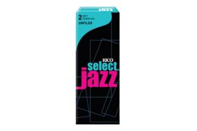 Rico Select Jazz Tenor-Sax 2S Unfiled 5er Box RRS05TSX2