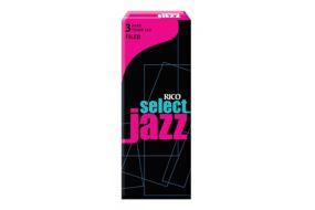 Rico Select Jazz Tenor-Sax 3H Filed 5er Box RSF05TSX3H