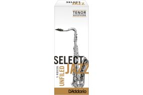 Rico Select Jazz Tenor-Sax 4S Unfiled 5er Box RRS05TSX4